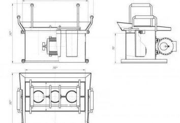 Maszyna do bloku żużlowym z rękami: rysunki, fotografie