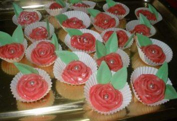 Decorazione della torta: fiori di mastice