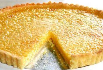Uma receita simples de torta de limão para uma boa dona de casa