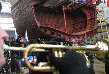"""Fragata """"Almirante Grigorovich"""": fotos, construção e lançamento"""