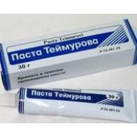 """Antiseptische Vorbereitung """"Pasta Teymurova"""": Feedback von Nutzern, Indikationen und Nebenwirkungen"""