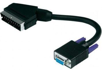 VGA-SCART-adattatore. Adattatore SCART-VGA: caratteristiche, recensioni, prezzo