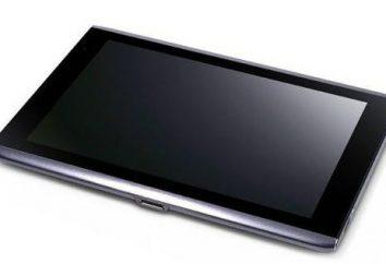 Acer A500 comprimido. Acer (tablet): descrição, especificações, comentários
