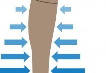 vêtement de compression avec des varices: ce qui est mieux? Variétés de sous-vêtements de compression, la description