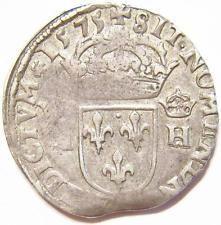 moedas franceses velhos