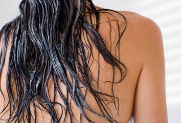 Maski do włosów (gęstość włosów) w domu
