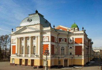 Okhlopkova Teatr (Irkuck) spektakle repertuarowe, aktorzy, projekty, odwiedzić teatr.