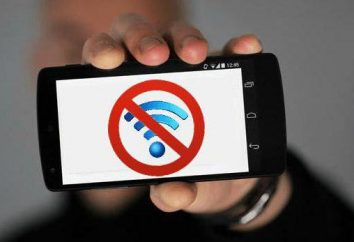 """Por """"Android"""" não está incluído wi-fi: as possíveis falhas e remédios"""