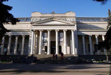 Museu de Belas Artes. Pushkin. fatos interessantes