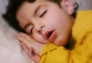 A criança tosse durante o sono: por quê?