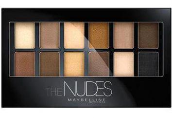 """Shadows """"Meybelin Nude"""". comentários proprietários"""