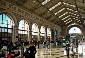 Ostsee-Bahnhof in St. Petersburg