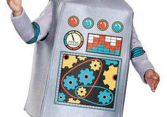 Qual a melhor forma para fazer um traje de robô