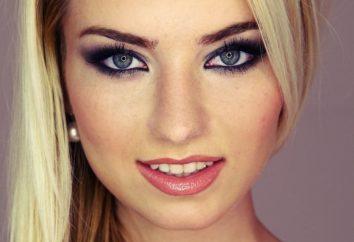 Was für Make-up für blaue Augen und blonde Haare am besten?