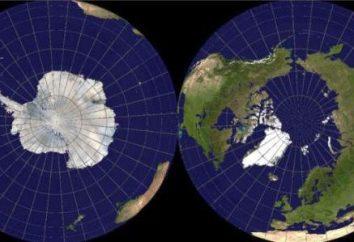 Geographische Lage der Antarktis: ein Überblick