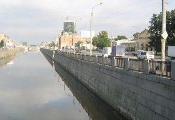 Kanał bypass (St. Petersburg): Stacje Nasyp, metro i autobusy. Informacja kanału by-pass
