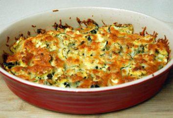 Calabacín cocido al horno: recetas en el horno de paso a paso con fotos