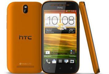 HTC Desire SV: zdjęcia, cena i specyfikacje