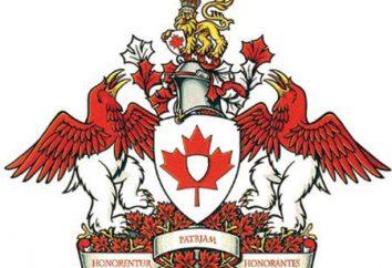 Coat of Arms of Canada, a inne symbole: historia, znaczenie, nowoczesny wygląd