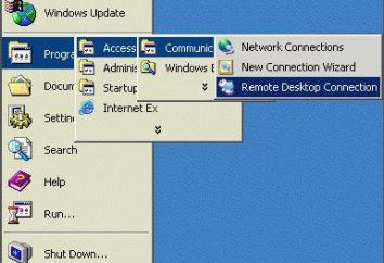 """Descrizione dettagliata di come connettersi a un """"desktop"""" a distanza"""