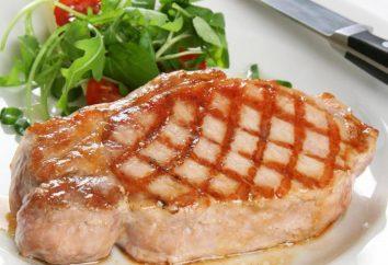 Come cucinare una bistecca deliziosa carne di maiale?
