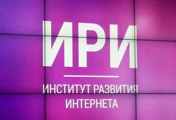 Institut pour le développement de l'Internet (IRI): historique, les objectifs, les projets