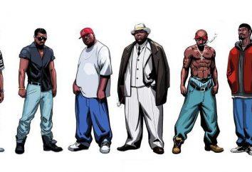 Jeunesse sous-culture: rappeurs