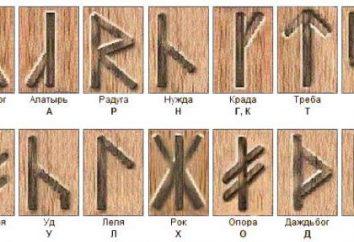 mundo velo: adivinhação pelas runas, o valor de forma directa e reversa
