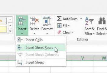Jak dodać ciąg do Excela: zalecenia, przykłady