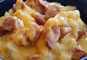 Las patatas con chorizo y queso en el horno: Recetas sencillas y deliciosas