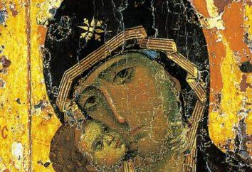 Ikona Vladimir Bogurodzicy: znaczenie i historię. Modlitwa Vladimir Ikony Matki Bożej