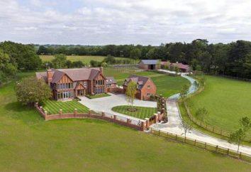 design de área suburbana paisagem