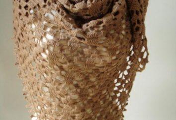 Dowiedz na drutach szydełku szal