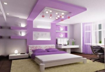 colore viola nella progettazione di interni