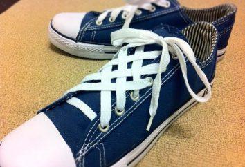 Lace-up Schuhe: einfach, komplex, elegant und wunderschön