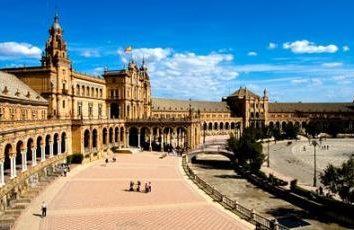 Sevilla, Espanha. Atracções da capital da Andaluzia