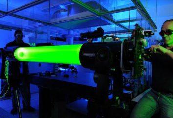 Czym jest światło lasera? Promieniowanie lasera: jej źródła i ochrony przed nim