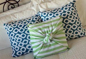 Schöne pillowcase auf das Kissen mit seinen Händen: eine Meisterklasse und interessanten Ideen