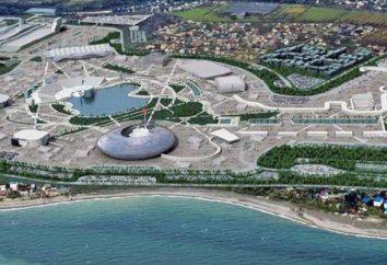 Infrastructure du village olympique de Sotchi
