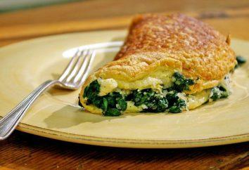 Jak gotować omlet ze szpinakiem