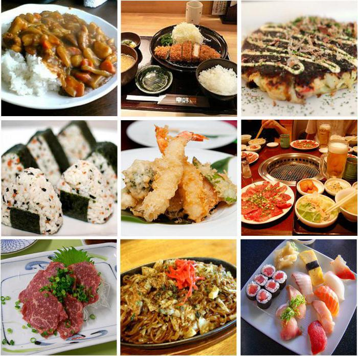 Comida japonesa nombre lista la comida japonesa para for Utensilios cocina japonesa