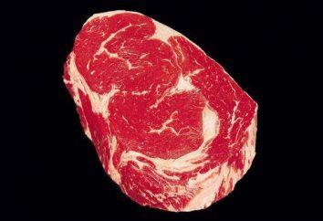 Marmoriertes Fleisch – es ist nützlich und schmackhaft