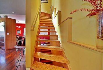 Cottage: come costruire una scala al secondo piano