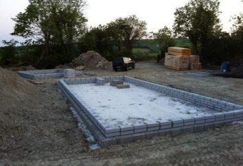 Entendemos lo que es mejor para la fundación de la casa de bloques de espuma