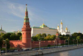 Architektura Kreml. Historia powstania i opis Kreml