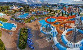 "parco acquatico Exclusive. Gelendzhik, ""Golden Bay"""