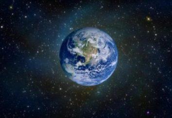 Jak narysować Ziemię przed rozgwieżdżonym niebem? Szczegółowe działanie
