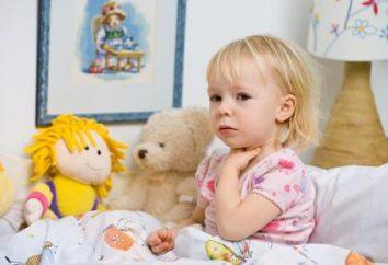 L'angine de poitrine de l'herpès se caractérise par un enfant?