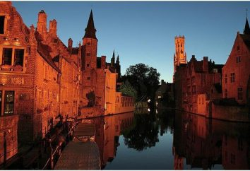Considere os principais pontos turísticos de Bruges