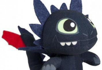 Bezzubik dragão – um brinquedo baseado no popular desenho animado